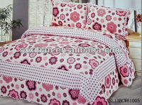 new design patchwork quilt set/bedspread/bed sheet/bed linen