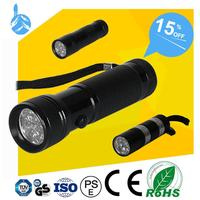 Global Market Jewelry Articles Inspection 14 led ultraviolet flashlight