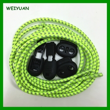 Wholesale crazy lock laces elastic no tie shoelace manufacturer