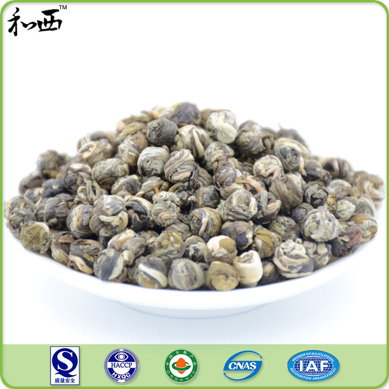 Nature Popular Well -Known Organic Dragon Pearl Jasmine Tea Brands