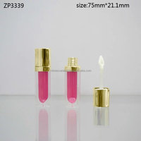 classic design empty plastic lipgloss bottle for lip gloss container