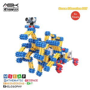 Geombot High Quality Building Blocks 2019 New Arrival Intelligent Programmable Robot Toy For Children Free Shipping