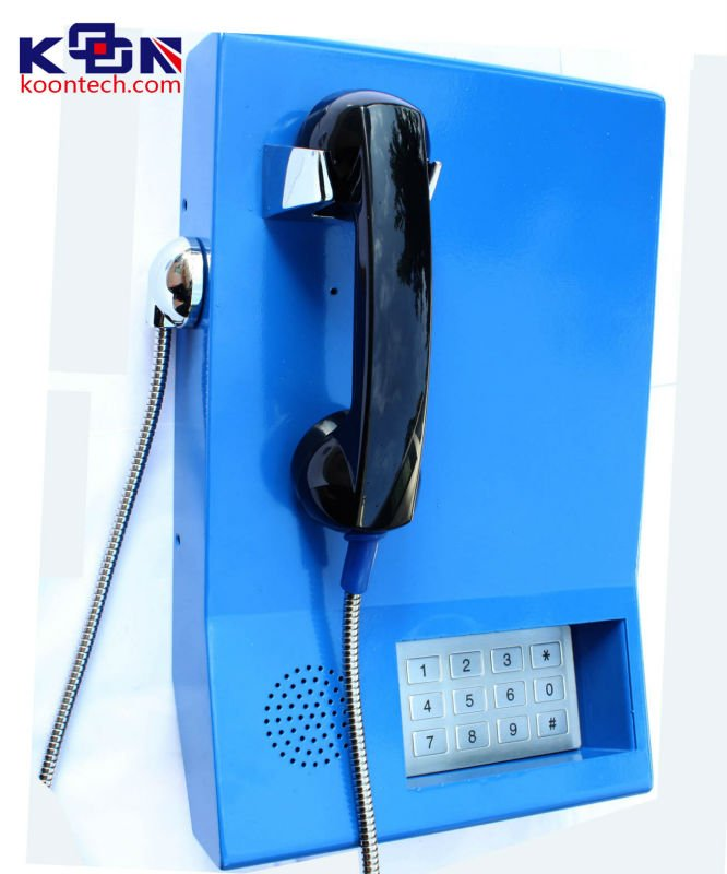 Nortel Networks Telephone System KNZD-22 Help Point Metal Emergncy Telephone Bank Service Phone
