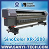 Solvent Printer Price, SinoColor XR-3208,With Xaar Proton 382 Printheads