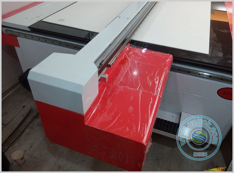 Industrial large format 2500*1300mm digital glass printing machine