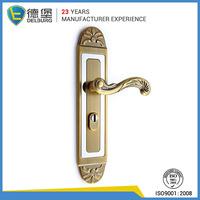 Luxury american external keyed door lever handles