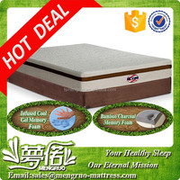 wholesale alibaba double bed bamboo charcoal mattress