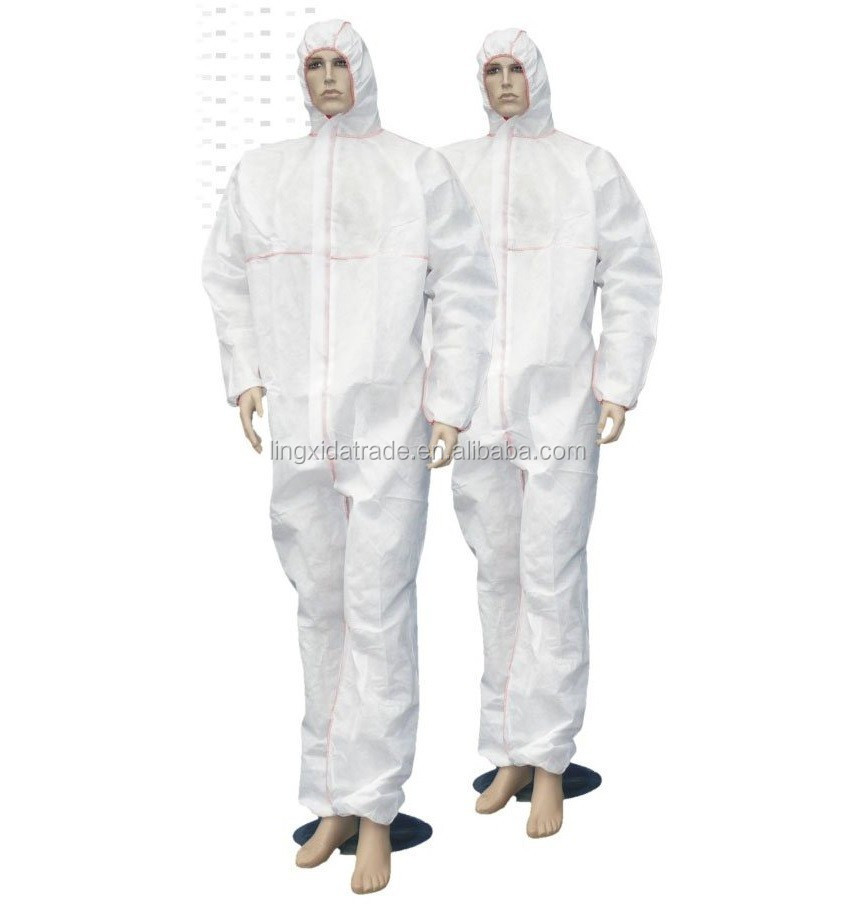 medical and disposable Coverall with non-woven fabrics