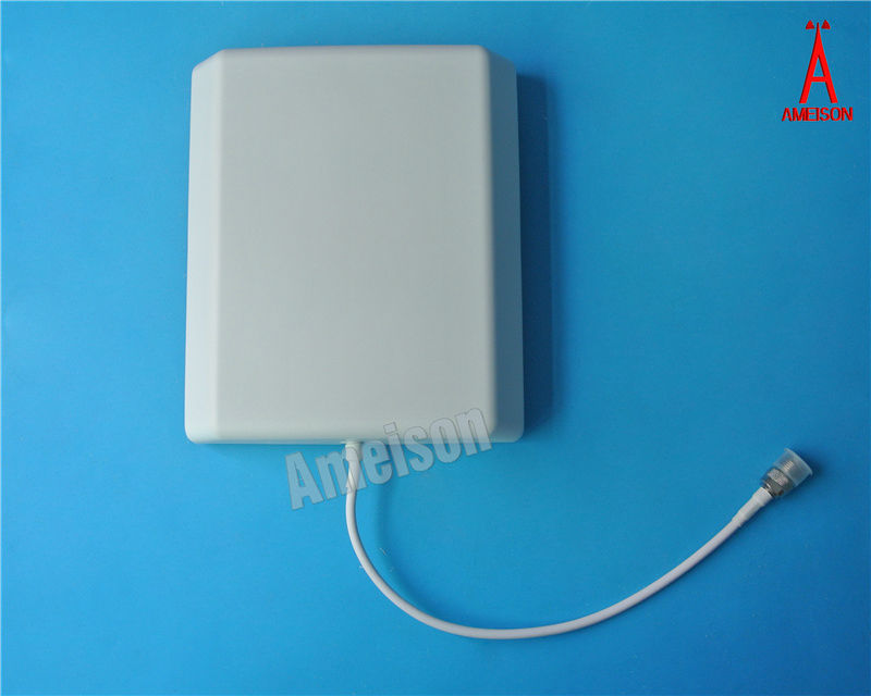 10dbi 806 - 2700 MHz Directional Wall Mount Flat Patch Panel DAS Antenna full band gsm 3g 4g wifi signal receiver antenna