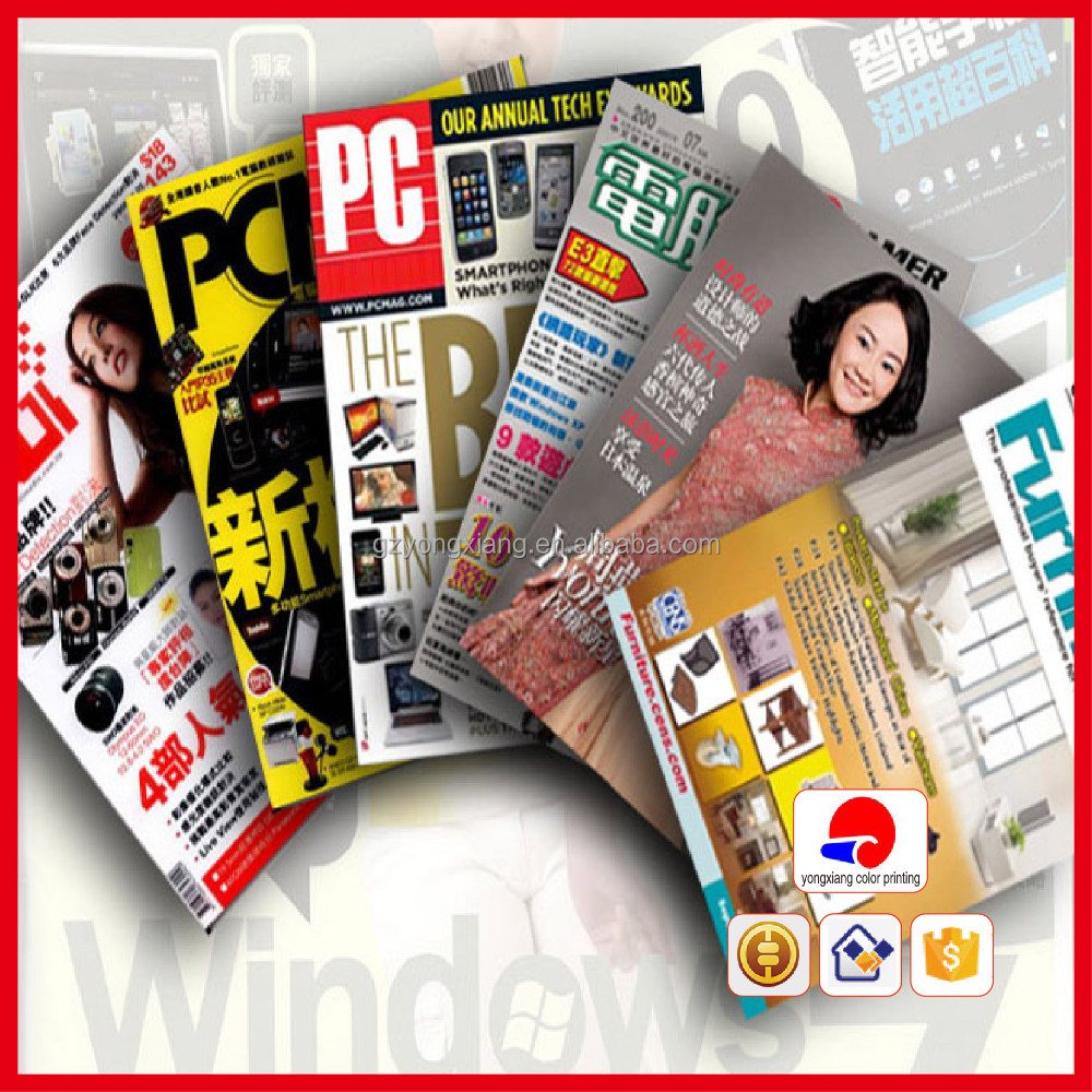 [Direct Factory+Quick Response]a3 magazine printing photo book [High quality+ Cheap price]