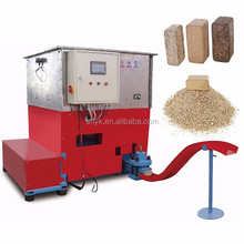 wood sawdust biomass hydraulic briquette machine