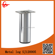 Replacement chrome stainless steel metal sofa legs