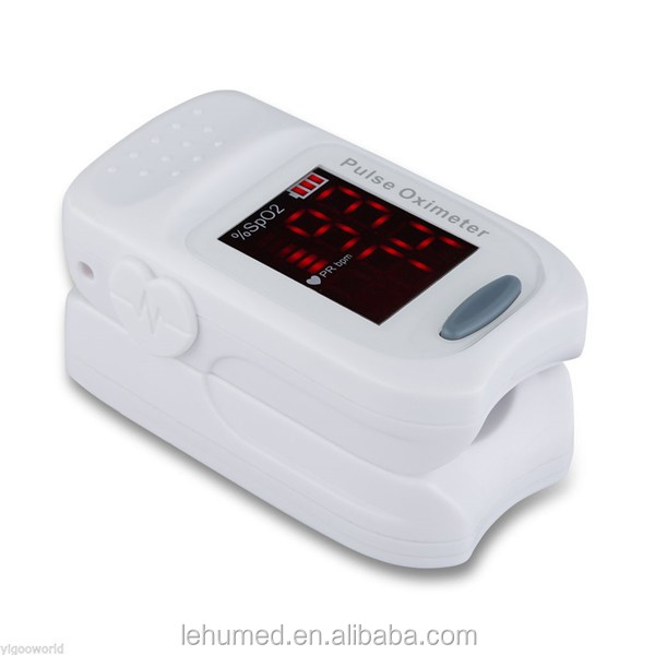 Finger Pulse Oximeter - Portable - FDA Approved - Digital Blood Oxygen and Pulse Sensor Meter with Alarm - SPO2 - For Adults