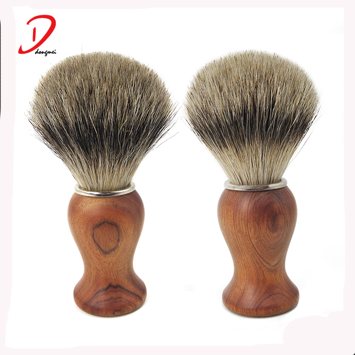 Premium Luxurious quality wood shaving brush,badger shaving brushes father's day gift
