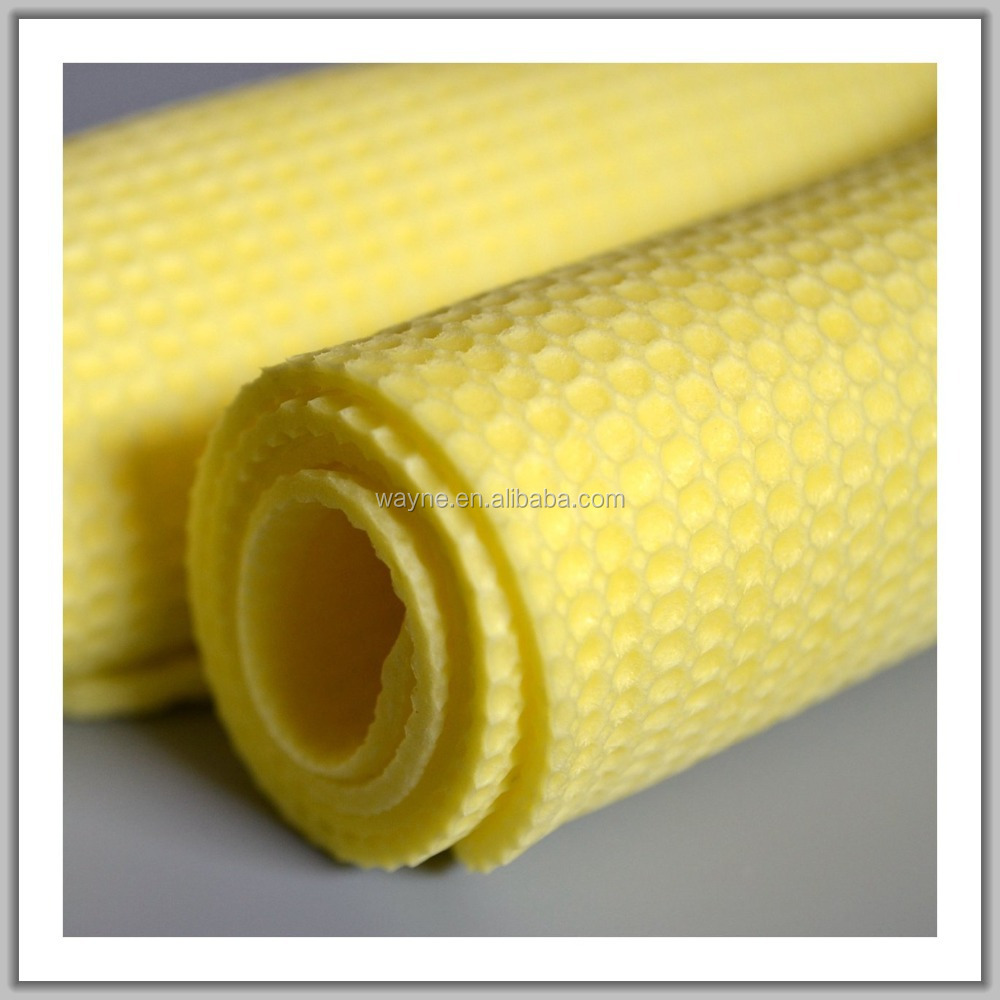 PVA cool towel softtextile waffle ou honeycomb pattern elastic can stretch chamois leather