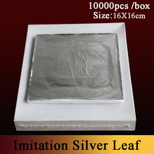 composition silver leaf for gilding and decorating furniture frame ceiling from chinese manufacturing