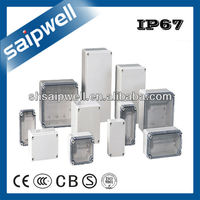 IP66 ABS PLASTIC ELECTRONICS POLYCARBONATE JUNCTION ENCLOSURES