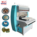 liquid pvc color dropping machine for soft pvc tag