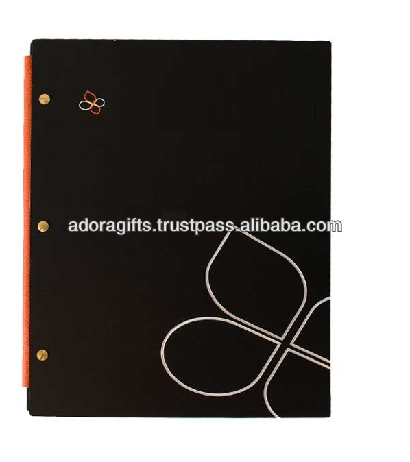 nice model of menu card cover / professional restaurant menu cover design / fashionable beer menu holder