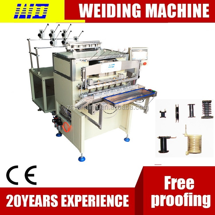 Japan TANAKA technology 12spindle full automatic twisting+winding+tape coil winding machine
