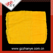 Factory low price yellow 100% cotton gauze Tack cloth