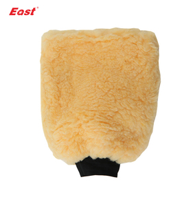 Promotional two sides lint mitt car wash cleaning glove