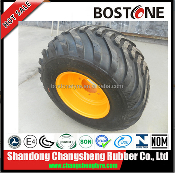 Gaomi city tractor floatation tyres 600/55-22.5 tires with rim