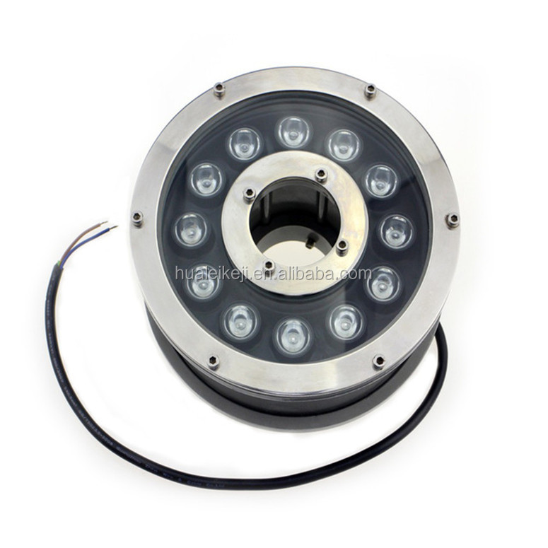 Automatic Change Color 9W/12W RGB led marine spot light,DC 12V IP68 Underwater lamp boat yacht swimming pool