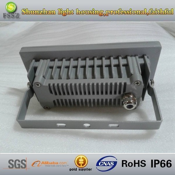 6watt outdoot die casting aluminum led flood light housing