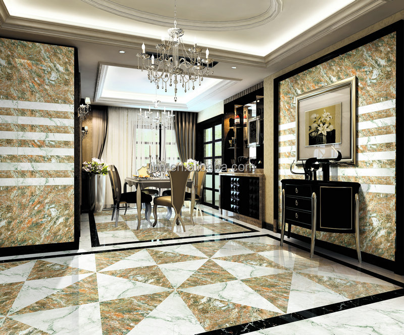 Carrelage polished glazed marble granite flooring tile