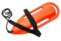 Red life saver float rescue can for water emergency buoyancy