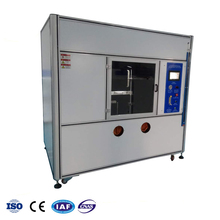 UL 94 Wire Cable Fire Burning Flame Resistance Testing Chamber