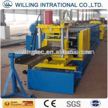 C shaped steel roll forming machine,C shape purlin production line