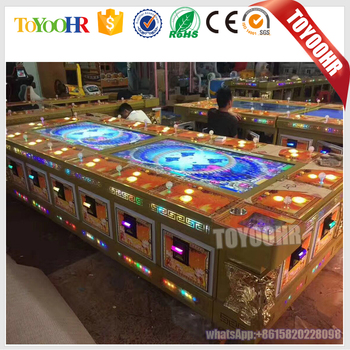 2017 arcade For IGS original software Fishing table gambling hunter games machine Ocean King 3 Monster fish gambling machine