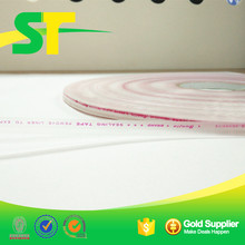 resealable red line PE adhesive sealing tape
