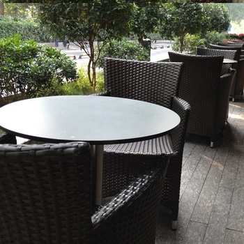 Debo Phenolic Compact Laminate HPL Table Top/HPL Outdoor Table