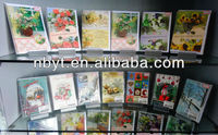 various handicraft christmas greeting cards
