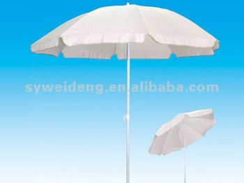 outdoor beach umbrella with metal tilt