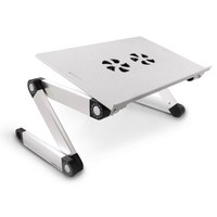 HOT Simple Aluminium Folding Laptop Computer Table Used on Bed