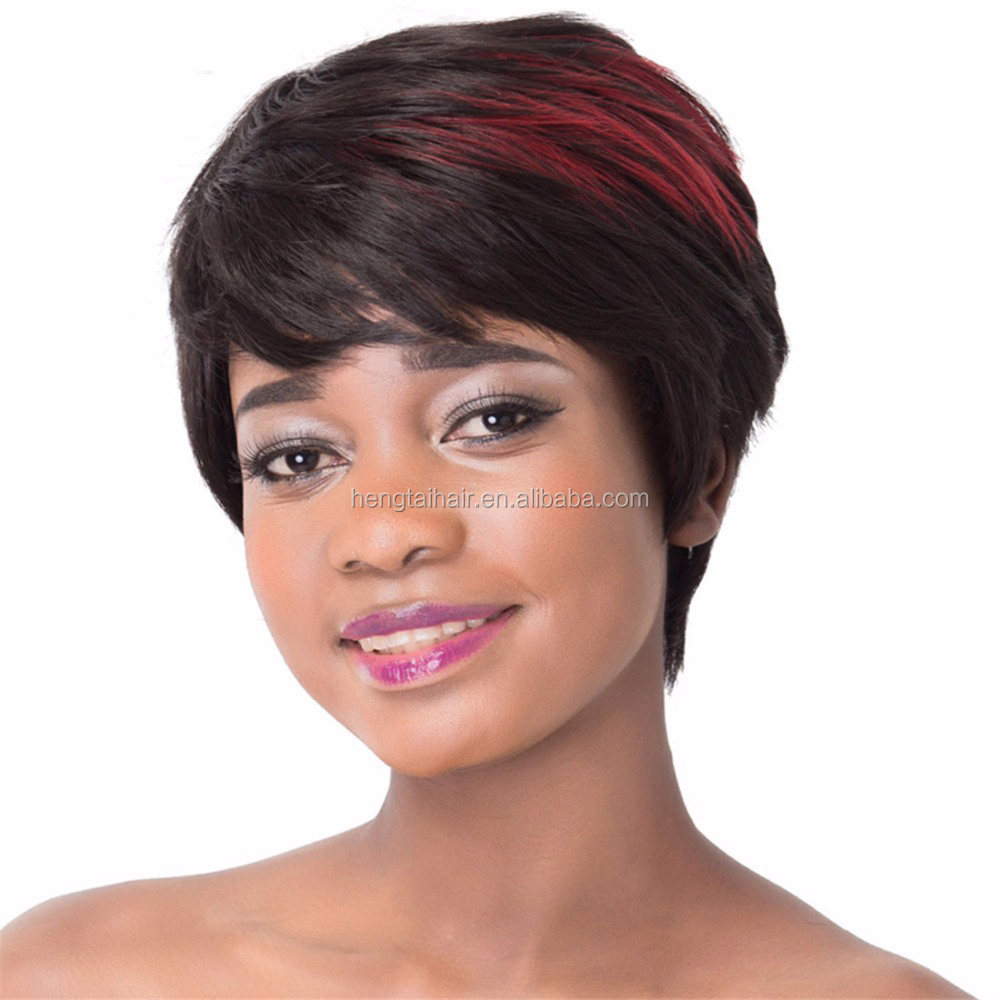 Short Curly Synthetic Wigs Natural Ombre Hairs Fashion Bob Cosplay Wigs For White Black Women American African