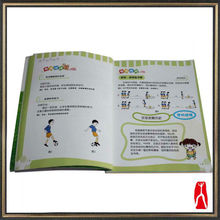 2013 cheap football teaching books printing for children