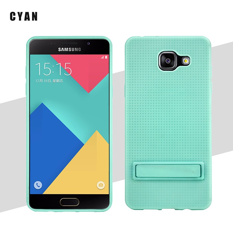 Cell Phone Case Shockproof Protective Stand TPU Case Cover For Samsung A5