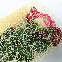 factory yiwu high quality polynet mesh wrap for flowers
