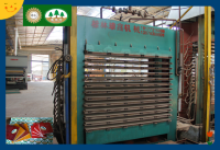 Hot press Plywood machine plywood production line