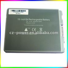Rechargeable Battery for Apple 15-inch PowerBook G4 A1078