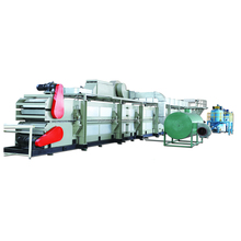 pu extruded board laminating machine