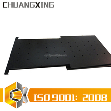 custom designed ergonomic metal rackmount LCD Plasma monitor keyboard drawer tray rollout shelf OEM manufacture and fabricating