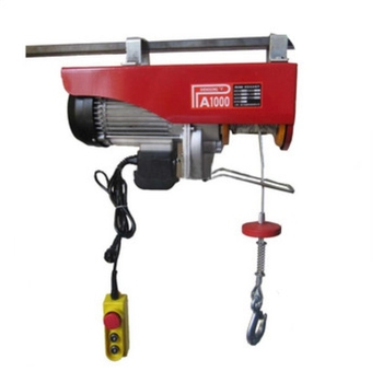 China Manufacturer 1000kg mini portable single girder overhead crane electric hoist