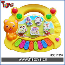2015 very cheap battery operated toy cartoon keyboard foreign Music Instrument