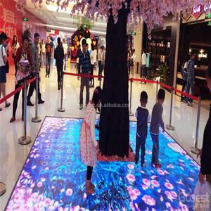 new type interactive floor projector software/interactive floor kid games
